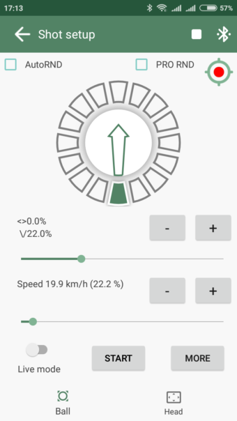Bottom spin with separate spin parts